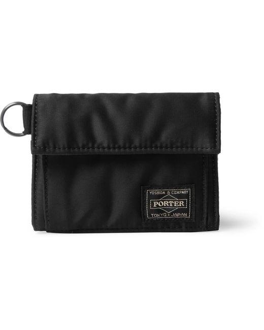 Porter - Black Tanker Nylon-canvas Billfold Wallet for Men - Lyst