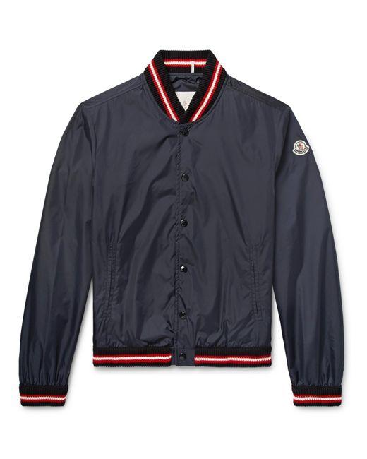 Moncler | Blue Dubost Shell Bomber Jacket for Men | Lyst