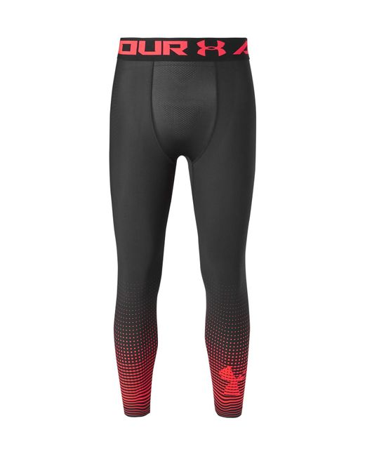 Under Armour | Black Heatgear Armour Graphic Compression Tights for Men | Lyst