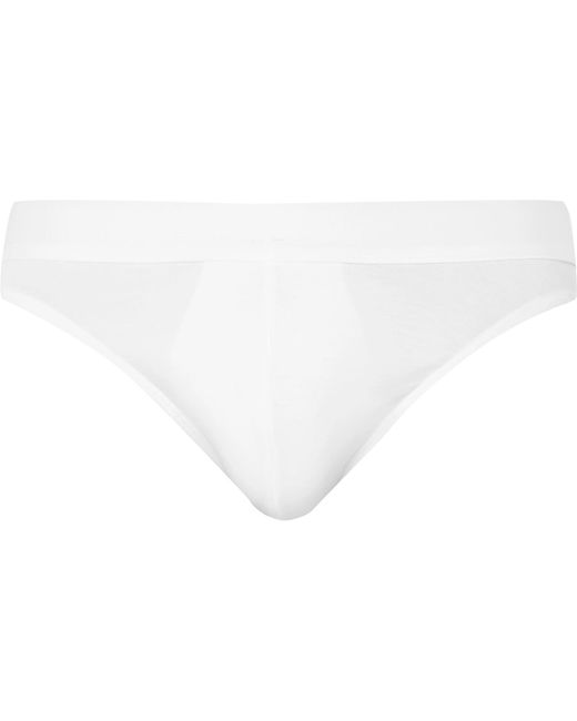Zimmerli - White Pureness Stretch-micro Modal Briefs for Men - Lyst