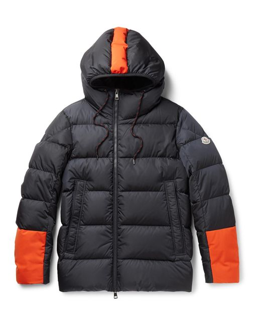 Moncler | Blue Drake Quilted Shell Hooded Down Jacket for Men | Lyst