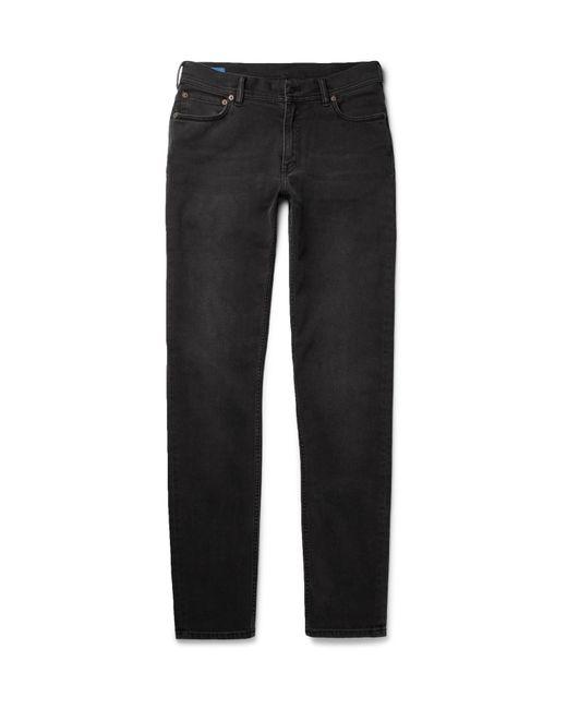 Acne | Black North Slim-fit Stretch-denim Jeans for Men | Lyst