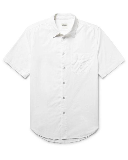 Rag & Bone | White Standard Issue Beach Cotton Shirt for Men | Lyst