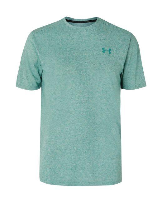 33c4e00f Under Armour Mélange Siro Heatgear T-shirt in Green for Men - Lyst