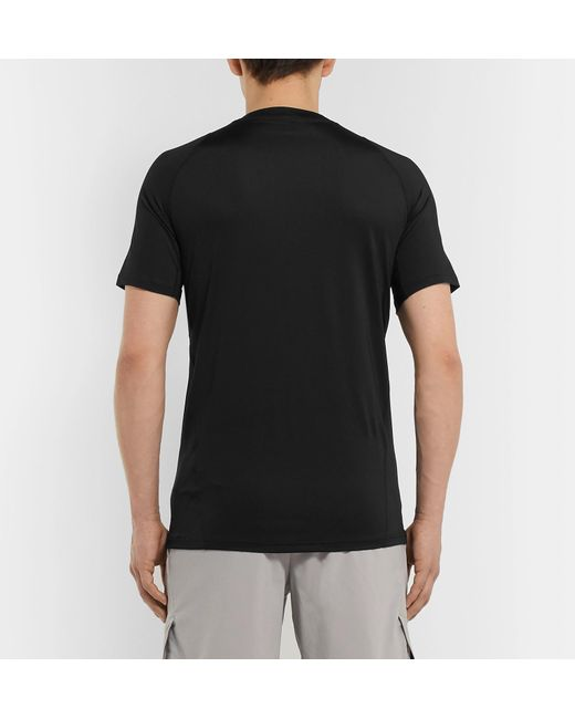 309d7b7bc4de90 ... Nike - Black Logo-print Dri-fit T-shirt for Men - Lyst ...