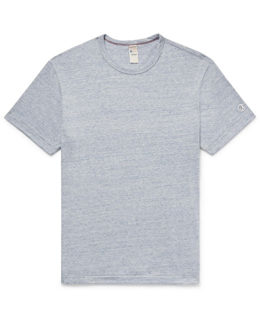 Todd Snyder - Blue Mélange Cotton-blend Jersey T-shirt for Men - Lyst