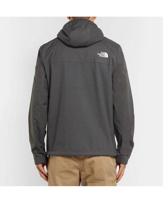 ... The North Face - Gray West Peak Shell Hooded Jacket for Men - Lyst ... ab4717605
