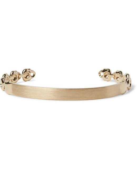 Luis Morais | Metallic Skull Gold Cuff for Men | Lyst
