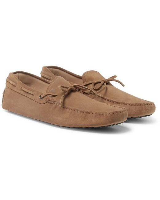 Tod's | Multicolor Gommino Suede Driving Shoes for Men | Lyst