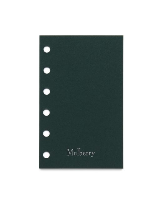 Mulberry - White New Pocket Book Ruled Paper for Men - Lyst