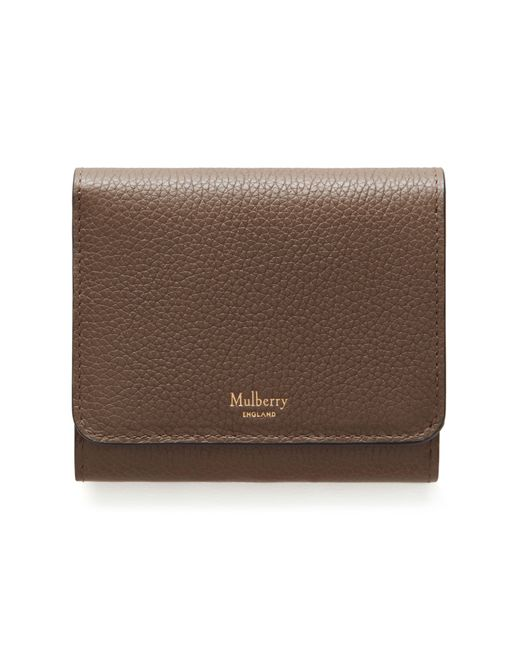 Mulberry - Brown Small Continental French Purse - Lyst