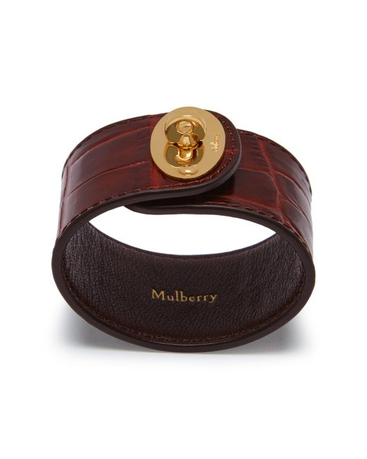 Mulberry | Brown Large Bayswater Bracelet | Lyst