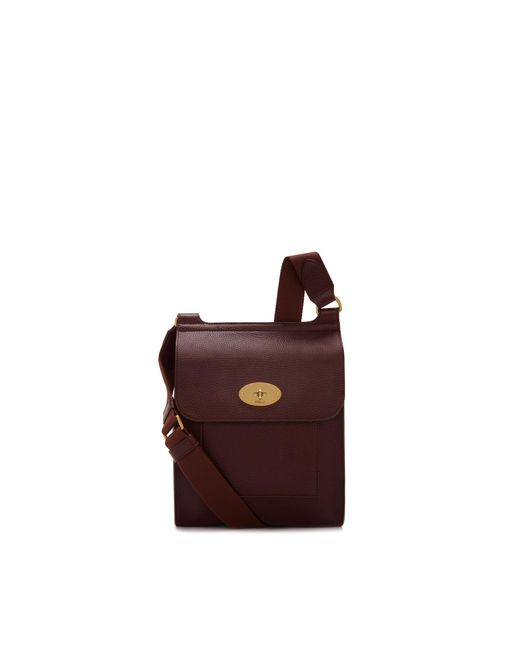 Mulberry - Multicolor New Antony In Oxblood Natural Grain Leather for Men - Lyst
