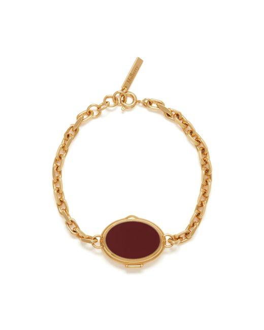 Mulberry | Metallic Locket Bracelet | Lyst