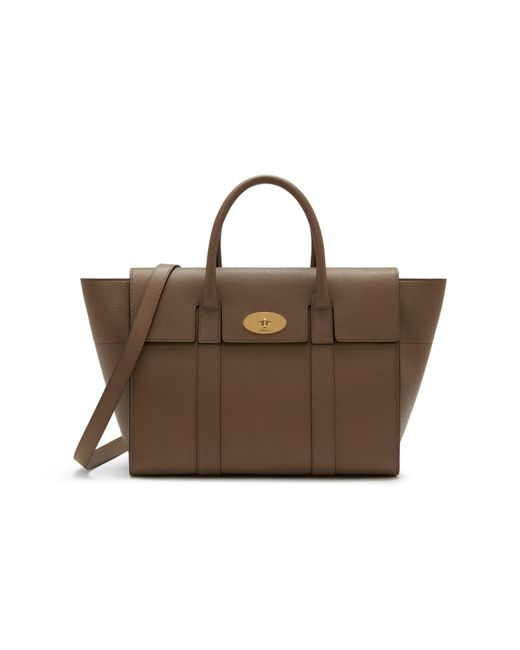 Mulberry - Brown Bayswater With Strap - Lyst