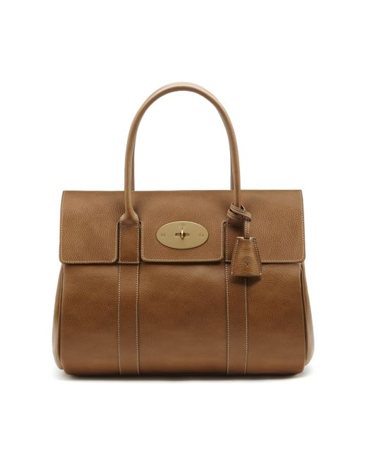 Mulberry | Brown Bayswater Leather Bag | Lyst