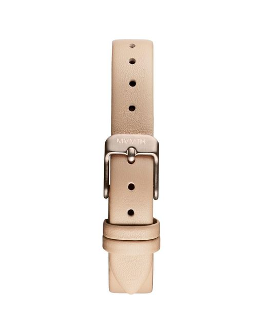 MVMT - Natural Mod - 12mm Beige Leather - Lyst