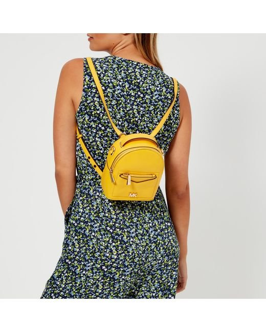 ... MICHAEL Michael Kors - Yellow Jessa Extra Small Convertible Backpack -  Lyst ... 9143dc9bca65b