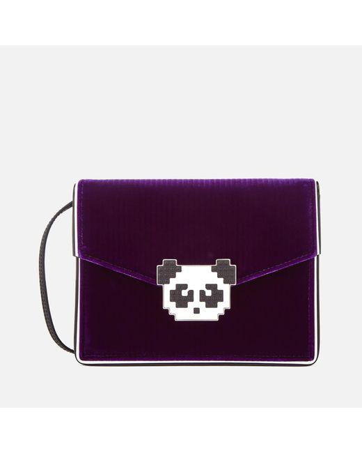 Les Petits Joueurs - Purple Lulu Panda Bag - Lyst