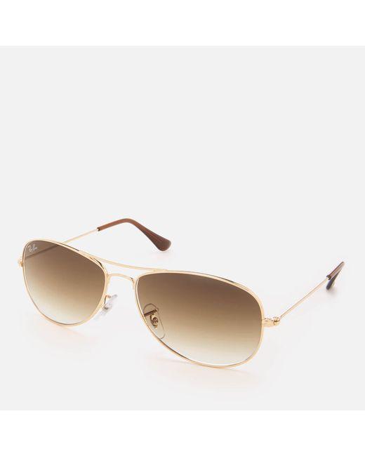 0968cc7ede ... Ray-Ban - Multicolor Cockpit Metal Frame Sunglasses for Men - Lyst ...