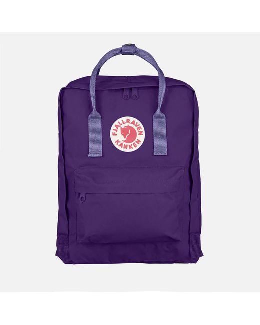 Fjallraven - Purple Kanken Backpack - Lyst