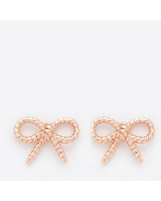 Olivia Burton - Multicolor Vintage Bow Earrings - Lyst