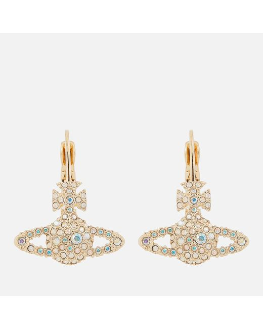 Vivienne Westwood - Metallic Grace Bas Relief Earrings - Lyst