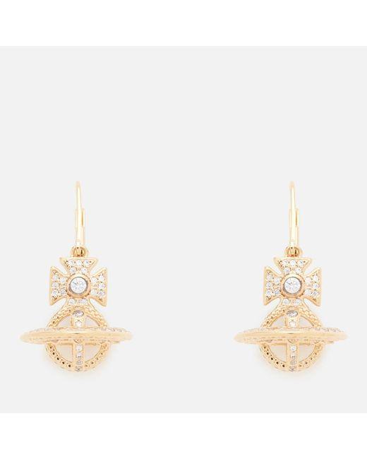 Vivienne Westwood   Metallic Isabella Orb Earrings   Lyst