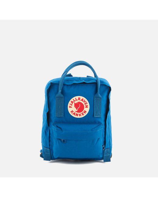 f9d9fb66a36b Fjallraven - Blue Kanken Mini Backpack for Men - Lyst ...