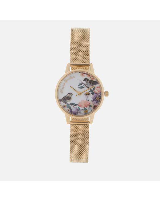 Olivia Burton - Multicolor Flower Show Watch - Lyst