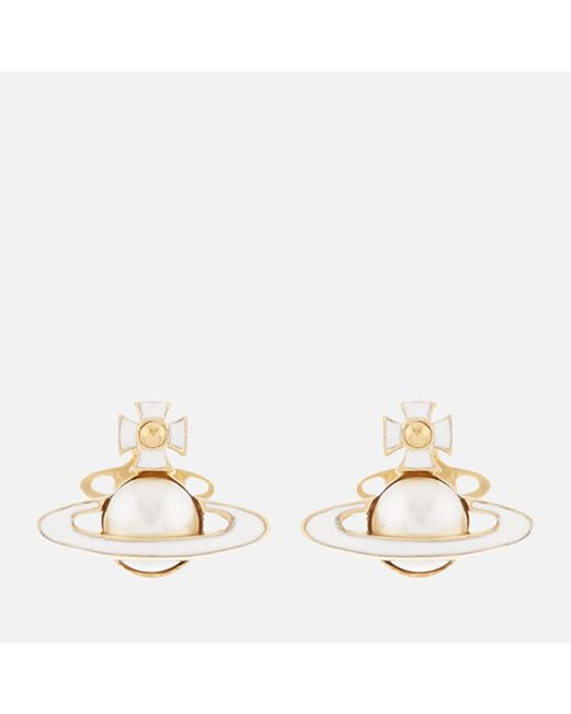 Vivienne Westwood - Multicolor Iris Bas Relief Earrings - Lyst