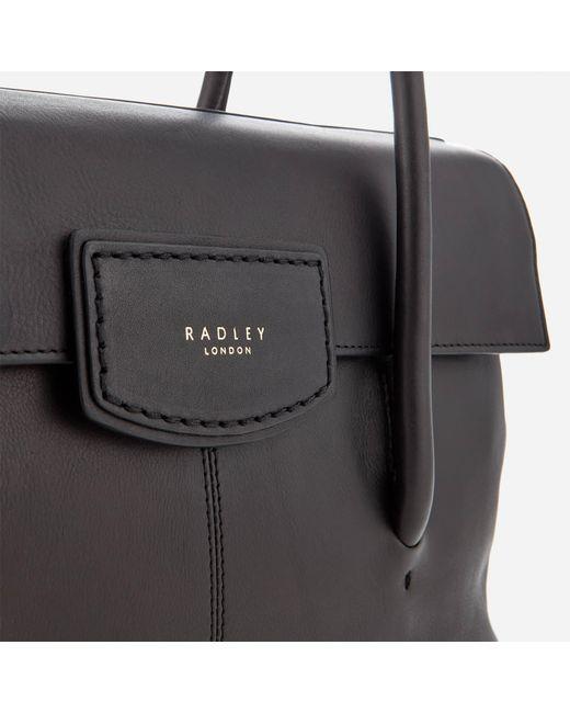 7816c92a7a ... Radley - Black Burnham Beeches Large Shoulder Bag - Lyst ...