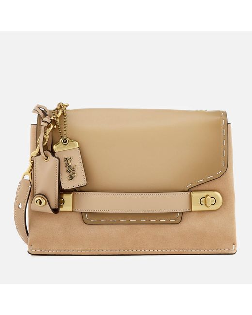 COACH - Natural Swagger Chain Cross Body Bag - Lyst