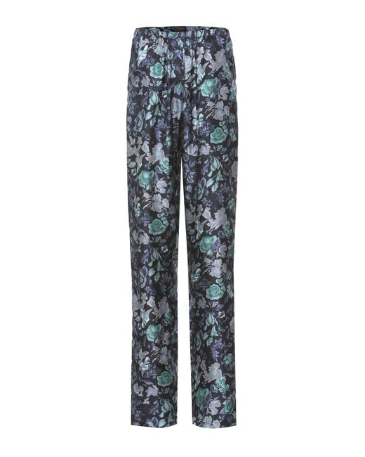 Burberry | Blue Printed Pyjama Trousers | Lyst