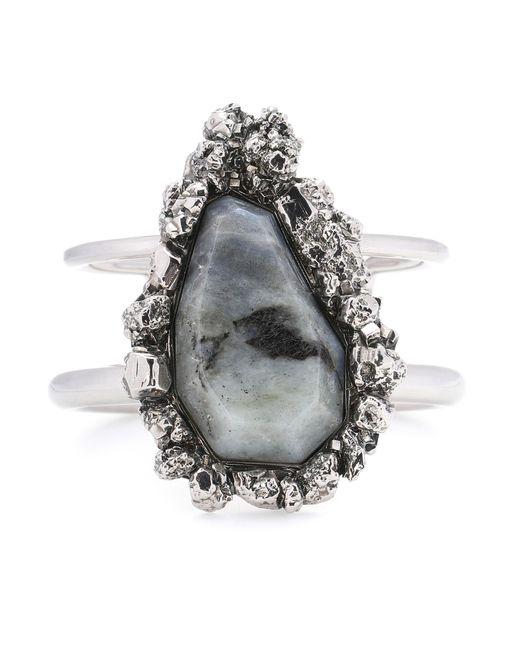 Alexander McQueen | Gray Labradorite Bracelet | Lyst
