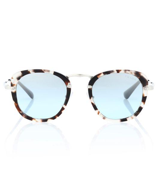 Prada - Brown Wanderer Acetate Sunglasses - Lyst