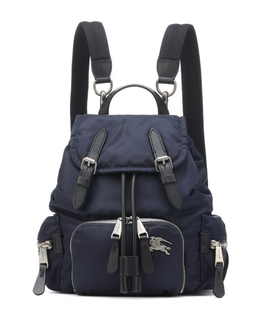 Burberry - Blue Navy Medium Puffer Crossbody Backpack - Lyst