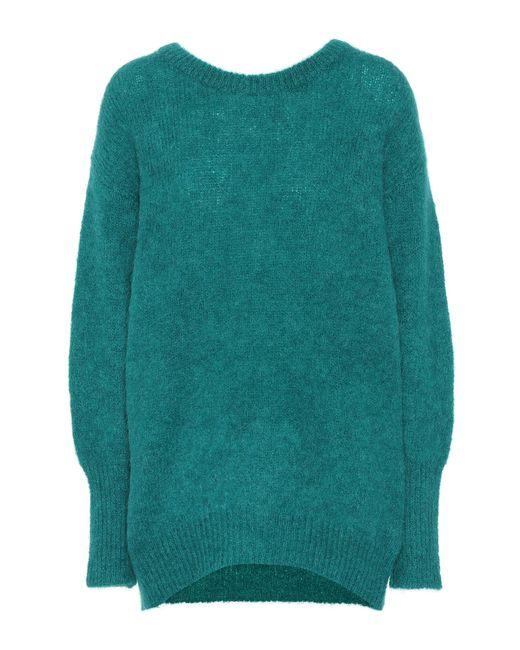 Dorothee Schumacher - Green Cosy Cool Mohair-blend Sweater - Lyst