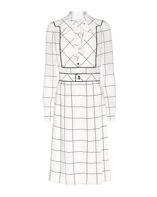 Valentino | White Silk Dress | Lyst