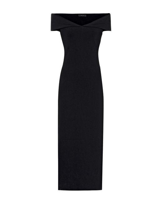 The Row - Black Delmi Scuba Dress - Lyst