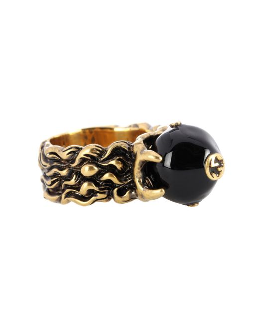 Gucci - Metallic Embellished Ring - Lyst