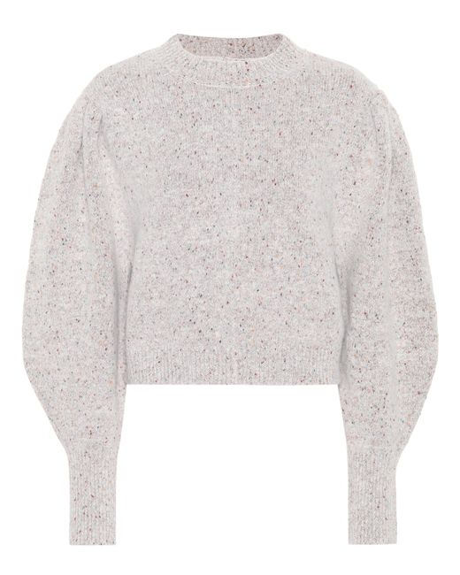Isabel Marant | Gray Elaya Alpaca-blend Sweater | Lyst