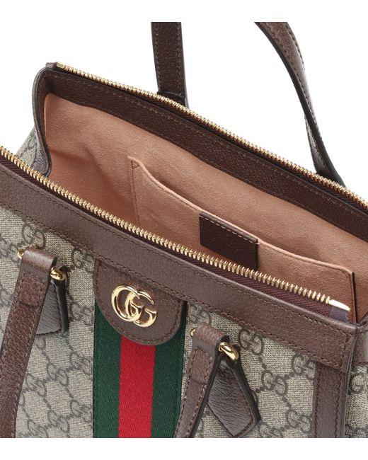 5a8d9256a505 ... Gucci - Multicolor Ophidia GG Supreme Tote - Lyst ...
