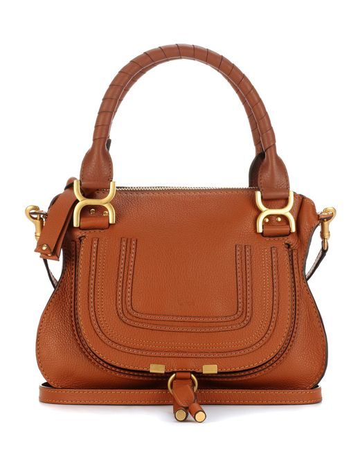 Chloé - Brown Marcie Medium Leather Tote - Lyst