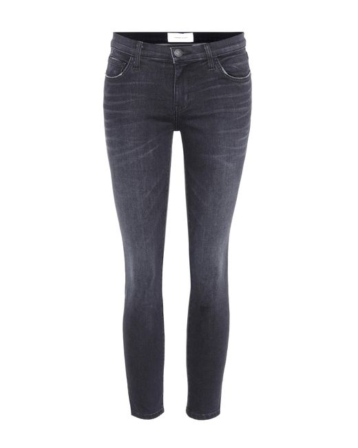 Current/Elliott - Blue Skinny Jeans The Stiletto - Lyst