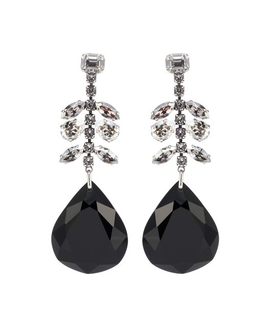 Isabel Marant - Black Peace Pop Embellished Drop Earrings - Lyst