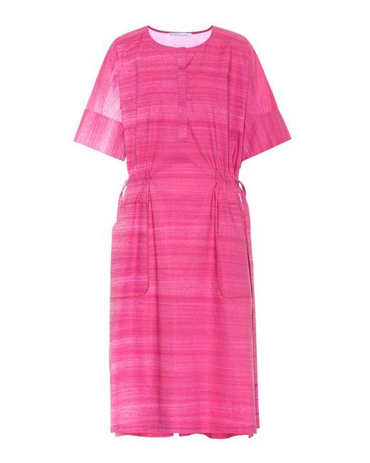 Agnona - Pink Cotton Dress - Lyst