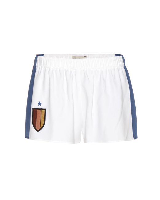 Stella McCartney - White Shorts With Appliqué - Lyst