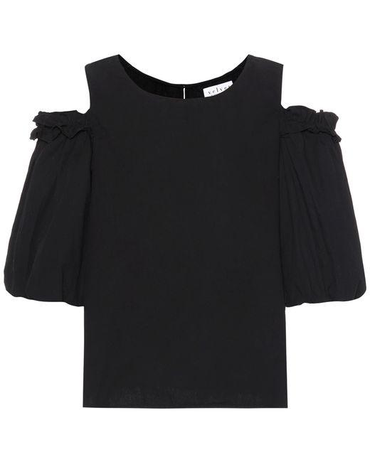 Velvet - Black Darvine Cotton Top - Lyst