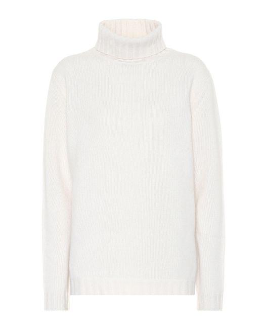 Jardin Des Orangers - White Exclusive To Mytheresa – Cashmere Turtleneck Sweater - Lyst